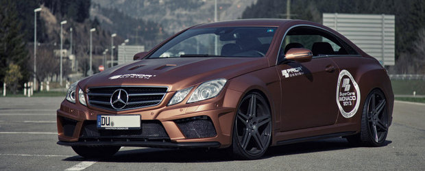 Mercedes E-Class Coupe by Prior Design - Atitudinea conteaza