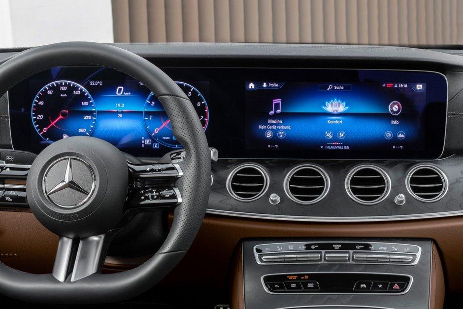 Mercedes E-Class Coupe si Cabrio - Primele poze