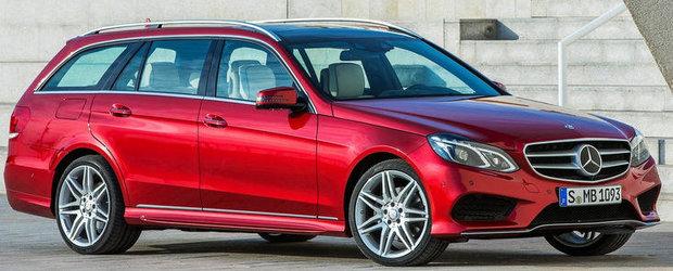 Mercedes E-Class Facelift - Noi detalii ies la iveala