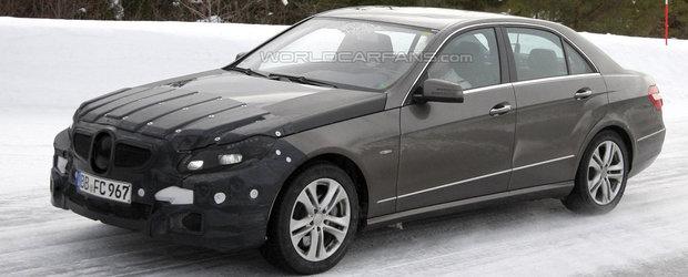 Mercedes E-Class Facelift - Primele poze spion!