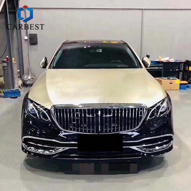 Mercedes E-Class W213 transformat in Mercedes-Maybach S-Class - Mercedes E-Class W213 transformat in Mercedes-Maybach S-Class