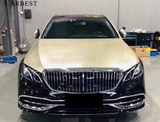 Mercedes E-Class W213 transformat in Mercedes-Maybach S-Class