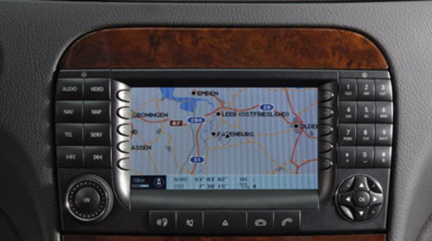 Mercedes E KLASSE W211 W212 Dvd harta navigatie Romania 2017/2018