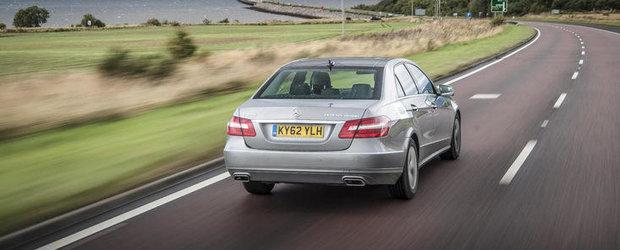 Mercedes E300 BlueTEC Hybrid - 1.770 de kilometri cu un singur plin de carburant