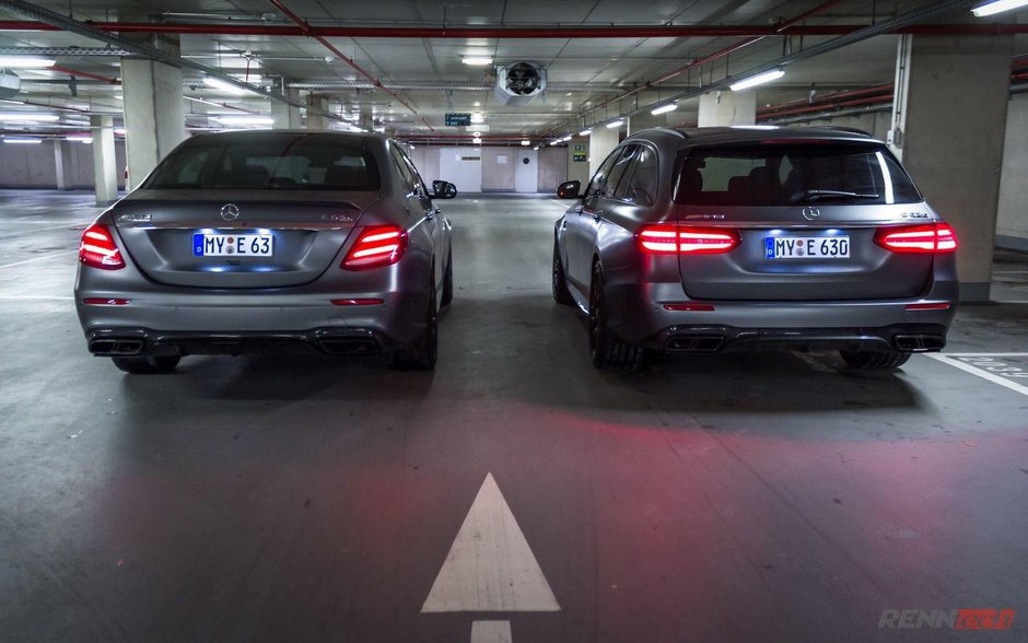 Mercedes E63 AMG de la Renntech