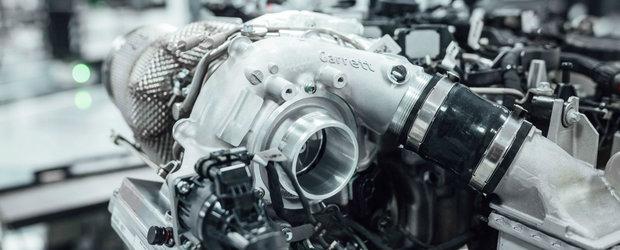Mercedes elimina turbo lag-ul cu o turbina asistata electric. Tehnologia este imprumutata din F1