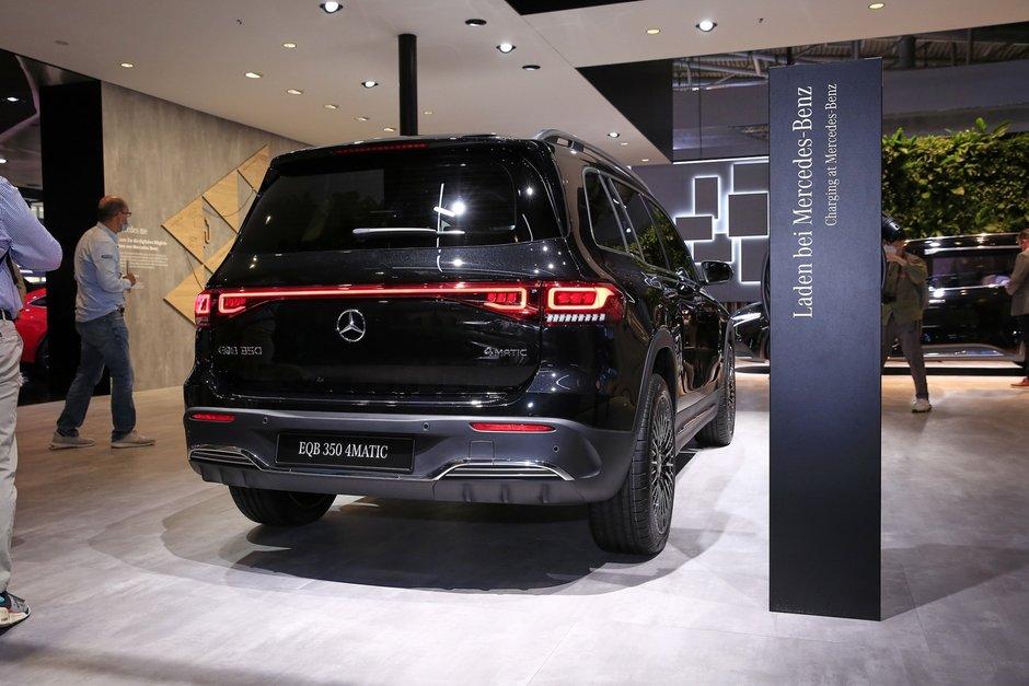 Mercedes EQB - Poze reale