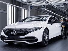 Mercedes EQS - Poze de pe linia de productie