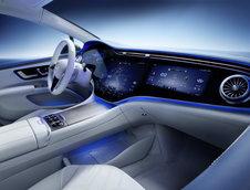 Mercedes EQS - Poze interior
