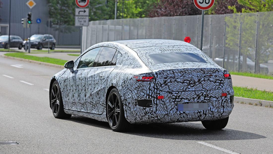 Mercedes EQS - Poze spion - Mercedes EQS - Poze spion