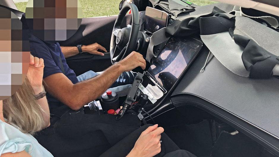 Mercedes EQS - Poze spion