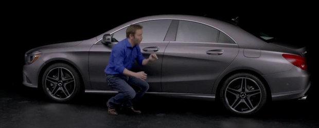 Mercedes explica designul modelului CLA