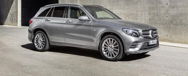 Mercedes 'expune' noul GLC in peste 88 de imagini proaspete