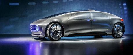 Mercedes F 015 Luxury in Motion sau Cum arata limuzina de lux a anului 2030