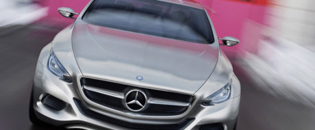 Mercedes F800 Style  - O mica portie din viitorul CLS