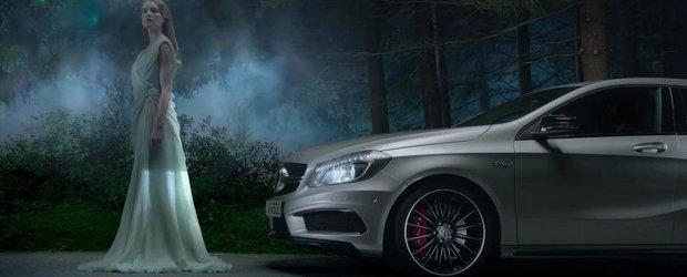 Mercedes foloseste zane si extraterestri pentru a promova noul A45 AMG. VIDEO AICI!