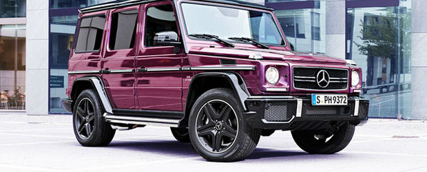 Mercedes G-Class Crazy Color Edition: Cand o vopsea costa 20.000 euro