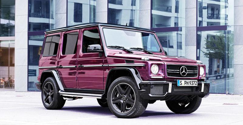 Mercedes G-Class Crazy Color Edition