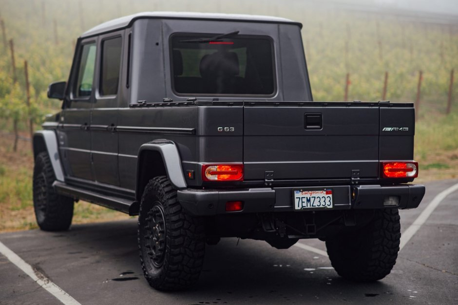 Mercedes G500 Grand Edition Pick-Up