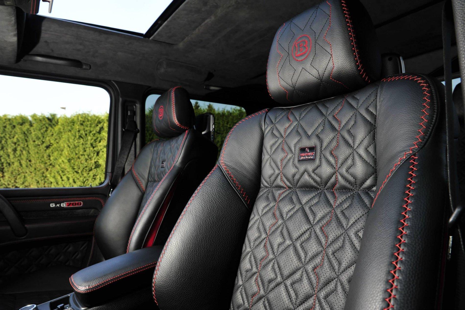 Mercedes G63 AMG 6x6 by Brabus - Tuning Interior - Mercedes G63 AMG 6x6 by Brabus - Tuning Interior