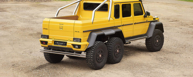 Mercedes G63 AMG 6x6 by Mansory: Opulenta la superlativ
