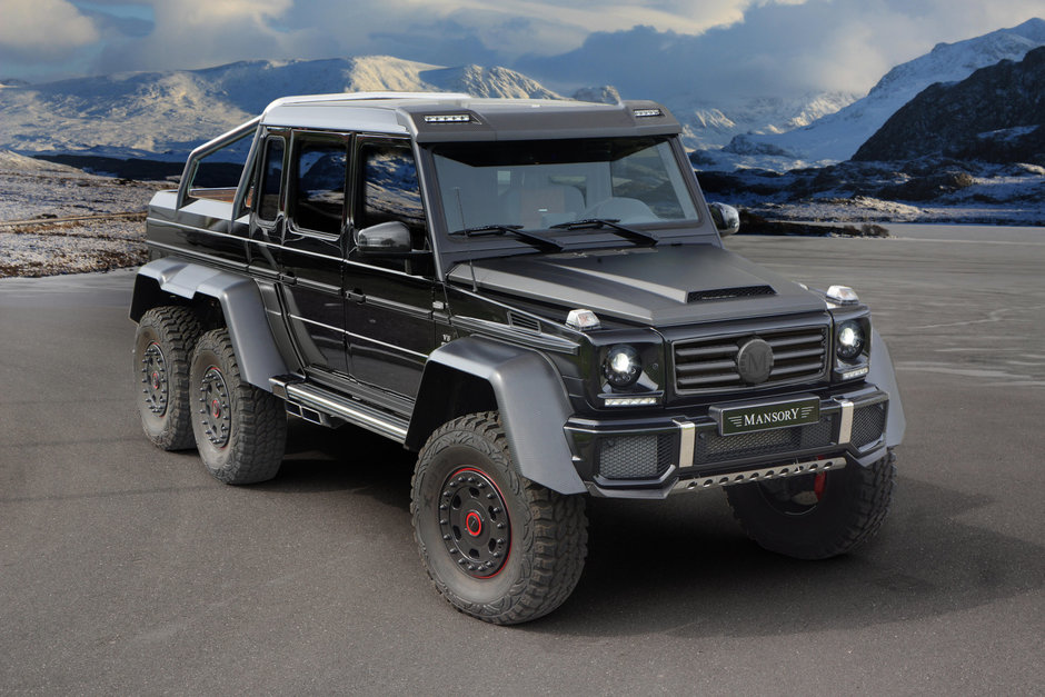 Mercedes G63 AMG 6x6 by Mansory