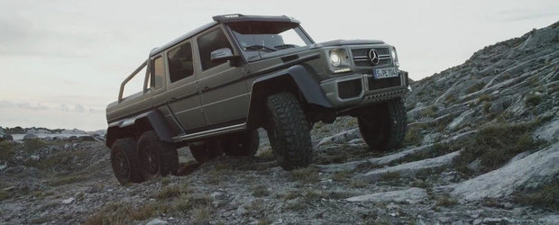 Mercedes G63 AMG 6x6 ne incanta privirile cu o noua aparitie speciala