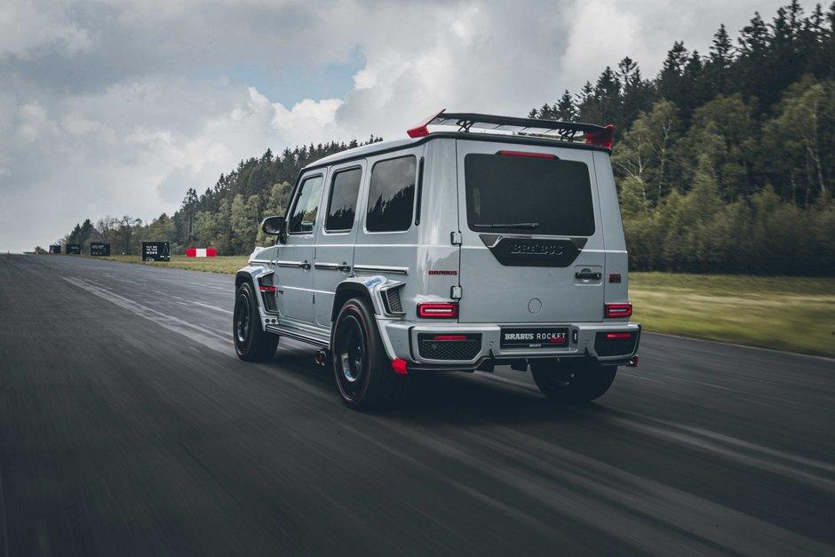 Mercedes G63 AMG de la Brabus