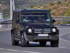 Mercedes G63 AMG - Poze Spion
