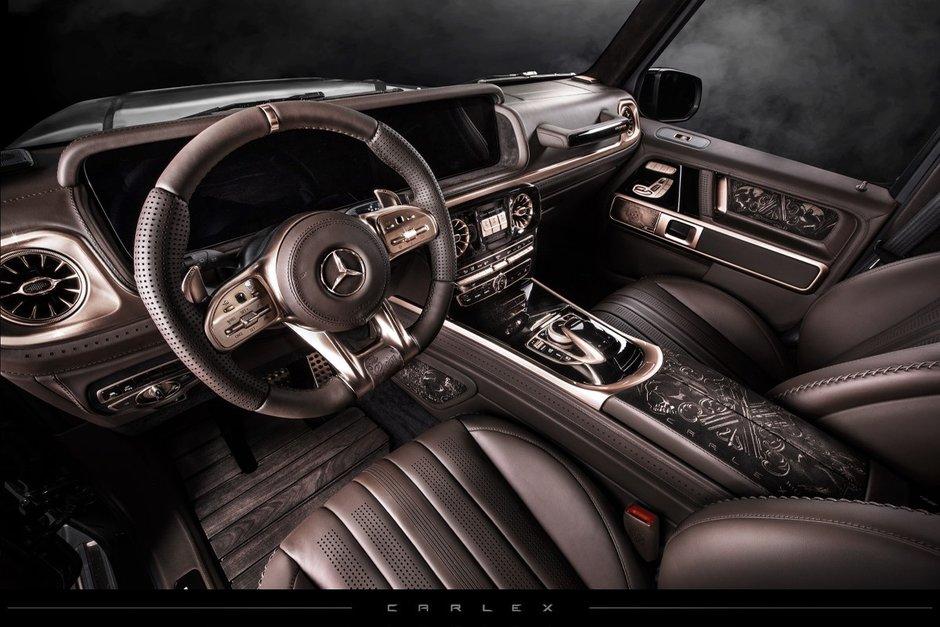 Mercedes G63 AMG Steampunk Edition de la Carlex Design