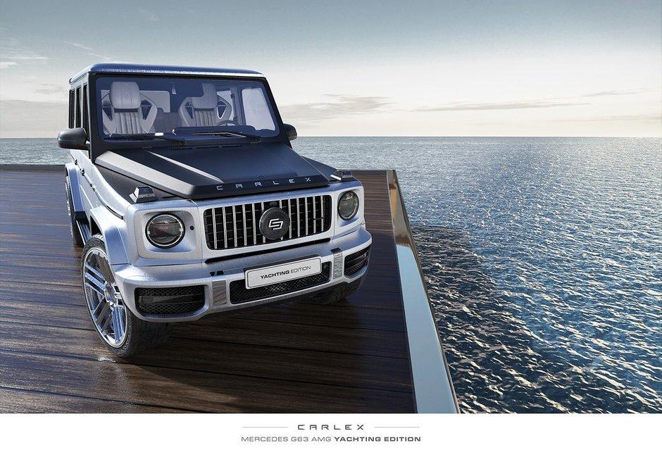 Mercedes G63 AMG Yachting Edition de la Carlex Design