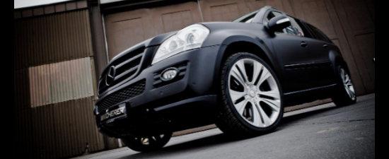 Mercedes GL by Kicherer - Pana la 380 CP si 900 Nm!