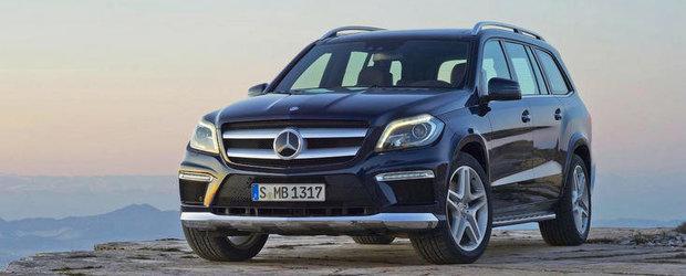 Mercedes GL-Class - Primele imagini cu noul model