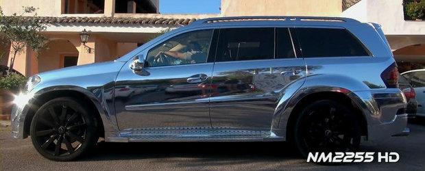 Mercedes GL cu kit ART si folie cromata - Kitsch sau extravaganta?