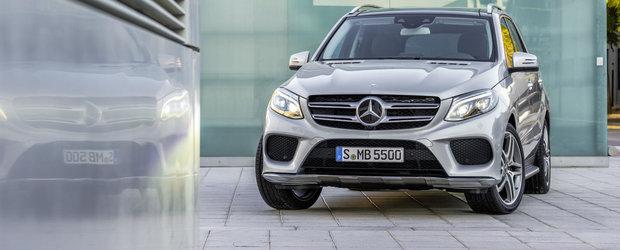 Mercedes GLE: Cum arata inlocuitorul modelului ML