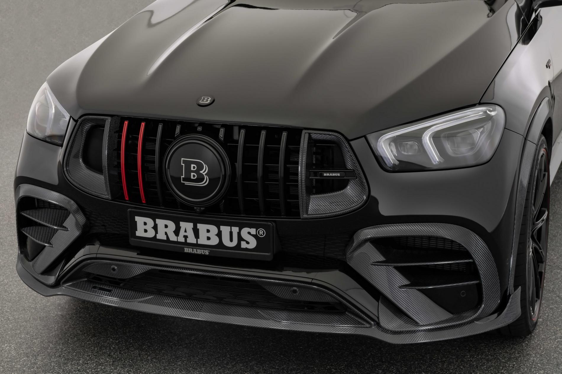 Mercedes GLE de la Brabus - Mercedes GLE de la Brabus