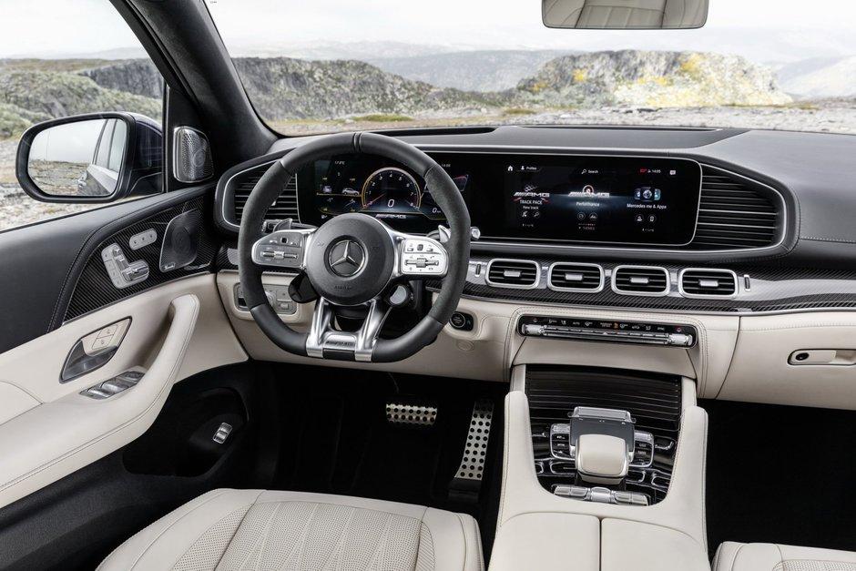 Mercedes GLE63 AMG S