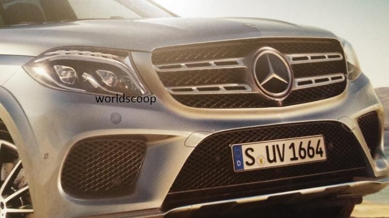 Mercedes GLS - Primele poze