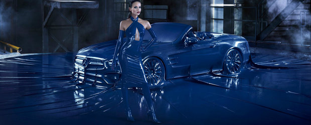Mercedes imbraca in latex noul SL. De dragul modei, bineinteles