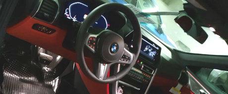 Mercedes incepe sa tremure: Uite cum arata la interior noul BMW Seria 8!