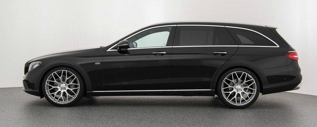 Mercedes l-a lansat ca un rival pentru A6 Allroad. Un exemplar deja tunat de BRABUS poate fi acum al tau