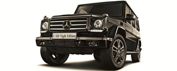 Mercedes lanseaza G550 Night Edition