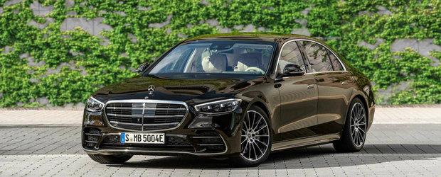 Mercedes lanseaza limuzina perfecta. Are 510 CP si face 100 de km fara sa consume strop de benzina