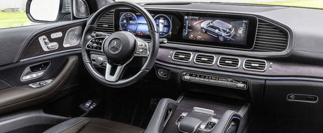Mercedes lanseaza noua generatie GLE. Rivalul lui X5 poate analiza starea suprafetei de rulare in timp real, printre altele