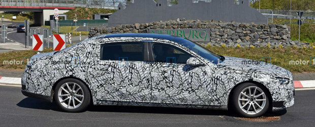 Mercedes le mai ia o data fata rivalilor. Noul Maybach S-Class surprins in teste cu ampatament extra-lung