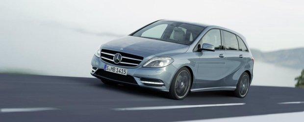 Mercedes lucreaza la un B-Class cu sapte locuri