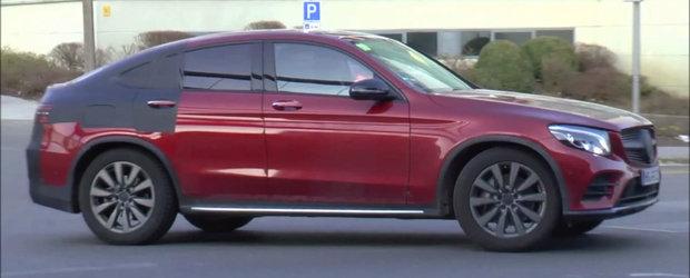 Mercedes mai coace un SUV Coupe. Cum arata viitorul rival al BMW-ului X4