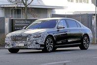 Mercedes-Maybach S-Class: Poze spion