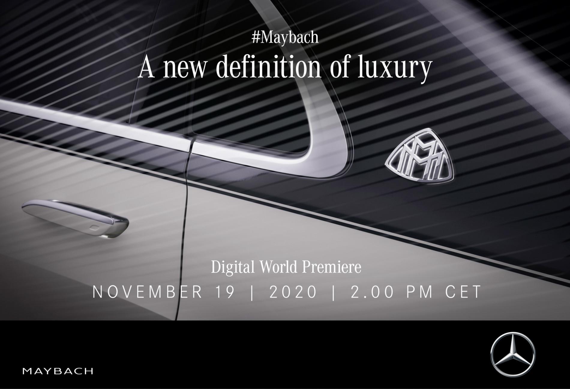 Mercedes-Maybach S-Class: Teaser oficial - Mercedes-Maybach S-Class: Teaser oficial