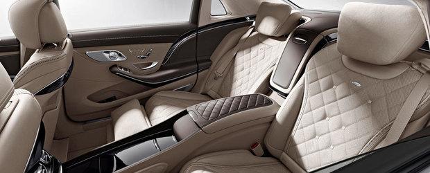 Mercedes-Maybach S600: Primele imagini ale noii limuzine de lux din Stuttgart
